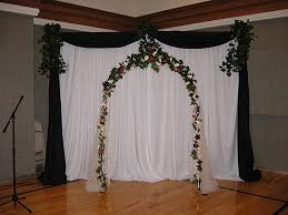 wedding arches indoor white wedding arches package