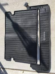 lexus floor mats for gx470 va 2010 2017 lexus gx460 all weather rubber cargo mat clublexus