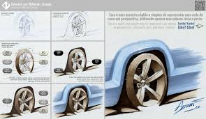 tutorial how to draw a car wheel by designadonis on deviantart