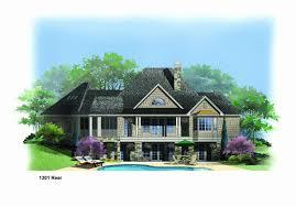 hillside walkout basement house plans lake house plans walkout basement unique 1301r house plan hillside