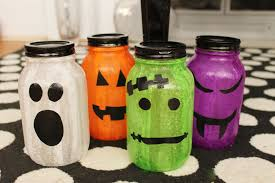 Mason Jar Halloween Diy Halloween Jars Splendry