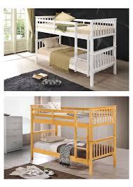 Beech Bunk Beds White Beds Buythebutchercover