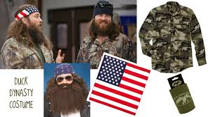 Duck Dynasty Halloween Costumes Tv Tuesday Duck Dynasty Costume Win