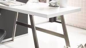 Schreibtisch In L Form Andria Computertisch In Weiß Matt Lack