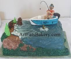 fishing grooms cake ideas