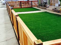 Artificial Grass Backyard Ideas Synthetic Lawn Rubidoux California Landscaping Business Front