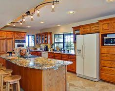 track lighting kitchen island 11 stunning photos of kitchen track lighting family kitchen