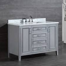 Grey Vanity Bathroom by Charleston 42
