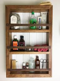 Wall Spice Racks For Kitchen Spice Rack Wall Cabinet Essential Oil Shelf Bathroom Wall