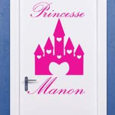 stickers pr駭om porte chambre stickers chambre bébé princesse stickers bébé ambiance sticker