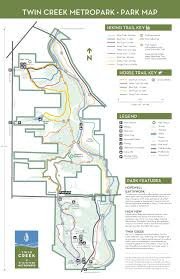 Ccw Map Twin Creek Metropark Five Rivers Metroparks