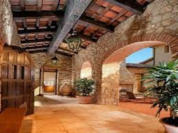 Tuscan Style Homes by Rustic Ideas For Living Room Interiors Of Mediterranean Style