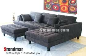 Charcoal Grey Sectional Sofa Charcoal Grey Sectional Sofa With Chaise Lounge Andyozier