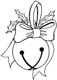 christmas bell coloring pages and santa page kids new bells