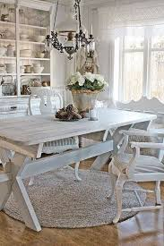 Shabby Chic White Dining Table by 2696 Best A White Shabby Chic Home Images On Pinterest Shabby
