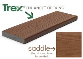 our deck project out with the old in with the trex andrea dekker