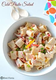 cold pasta salad with 1000 island dressing pasta salad with