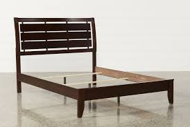 Wood Panel Bed Frame by Chad Queen Panel Bed Living Spaces