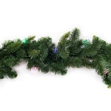 christmas garland with lights philips 9ft prelit artificial pine christmas garland bicolor b o