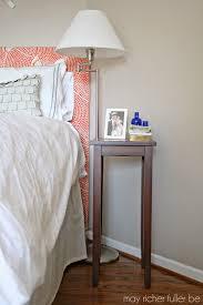 West Elm Bedside Table Be Bold Challenge West Elm Wood Tile Inspired Bedside Table