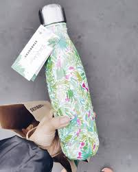 swell bottle lilly pulitzer x starbucks collaboration palm