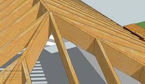 Hip Roof Measurements Model U0026 Measure Part One Hip Rafters De Mystified By Visualizing