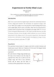 Report Essay Format Physics Lab Report Template Virtren Com