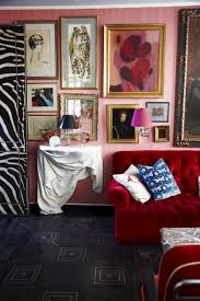 Red Room by How To Decorate With Pink And Red Tips From Miles Redd