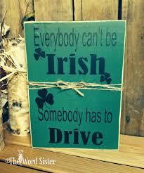 Word Blocks Home Decor 25 Best Irish Decor Ideas On Pinterest St Patrick U0027s Day Gifts