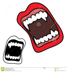 Vampire Teeth Vampire Fangs Royalty Free Stock Photography Image 28089407