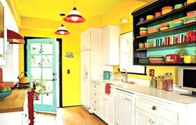 peindre meuble cuisine mélaminé meuble cuisine jaune peinture placard cuisine modele cuisine tras