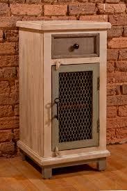 Chicken Wire Cabinet Doors Larose One 1 Drawer One 1 Door Cabinet With Chicken Wire