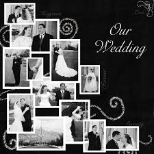 Wedding Scrapbook Page Scrapbook Ideas Wedding