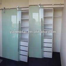 frosted tempered glass cabinet sliding closet door wardrobe