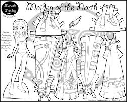 printable paper doll maiden of the north