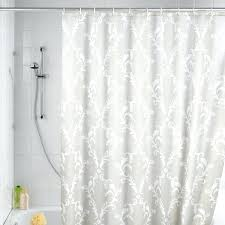 Fabric Shower Curtains With Valance Fabric Shower Curtain With Matching Window Treatment Curtain Ideas