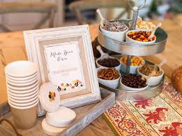 how to set up a snack mix station for hgtv