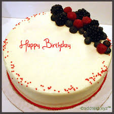 add text cherry red velvet birthday cake for friends add text