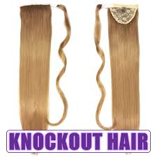 Real Ponytail Hair Extensions by Knockout Hair Extensions