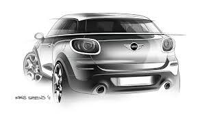 mini paceman design sketch car body design 150193 on wookmark