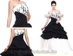 brautkleider schwarz weiãÿ extravagant brautkleider schwarz weiß lang taft duchesse