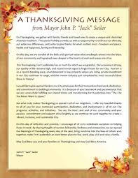 thanksgiving message to employees a thanksgiving message from fort lauderdale mayor john p