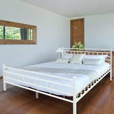 king size iron bed frame ebay