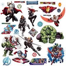 wall decal captain america wall decal thousands pictures of stickers avengers sticker mural u0026 geant avengers sur bebegavroche