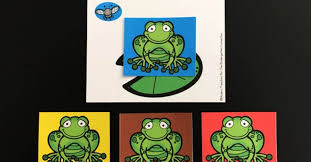 color matching hungry frogs the kindergarten connection