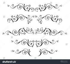 vintage ornamental vector frames stock vector 235839352