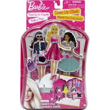 barbie dress up closet magnetic paper doll activity walmart com