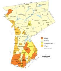 map of westchester county ny municipalities in westchester county