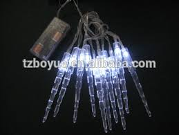 battery operated icicle christmas lights battery operated icicle light chain christmas light festival season