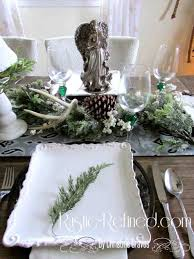 tablescape high heels to wheels best rustic christmas